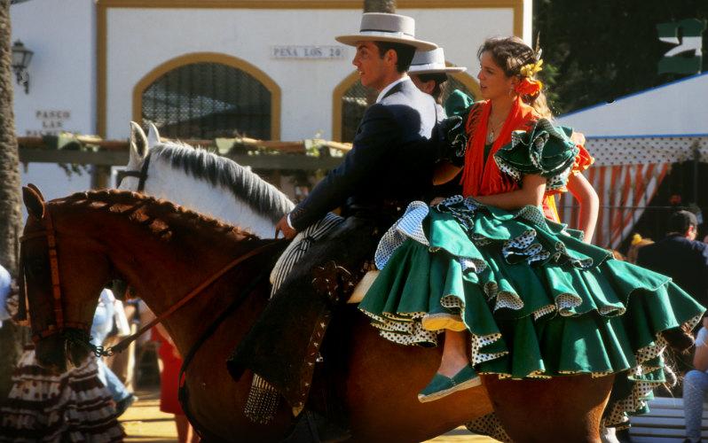 Jerez Horse Fair, Jerez de la Frontera, Spain