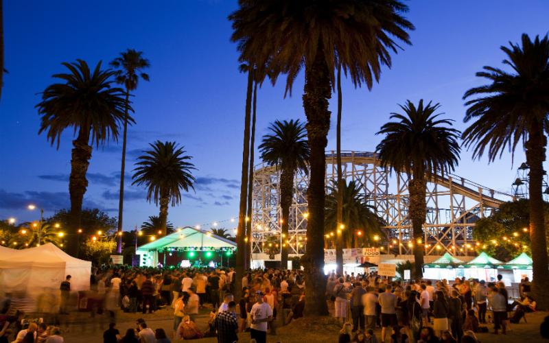 The St Kilda Festival, Melbourne, Victoria