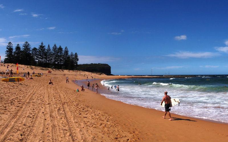 Mona Vale Beach, Mona Vale