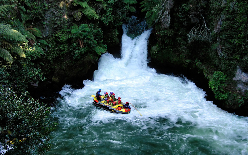 White Water Rafting in Queenstown