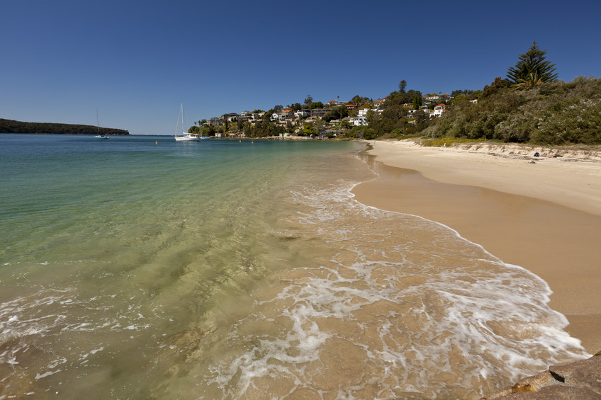 Chinamans Beach, Middle Harbour, Sydney