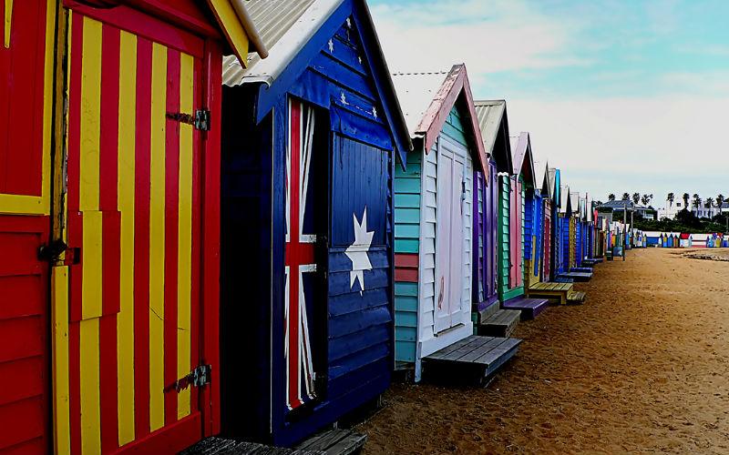 Dendy Street Beach, Australia.