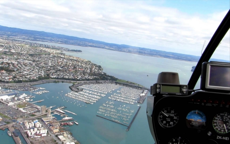 romantic scenic helicopter ride auckland new zealand