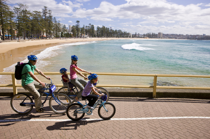 school holidays kids, manly beach