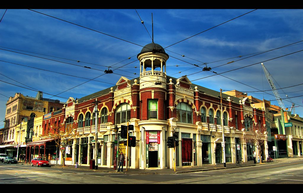 Gertrude Street in Melbourne