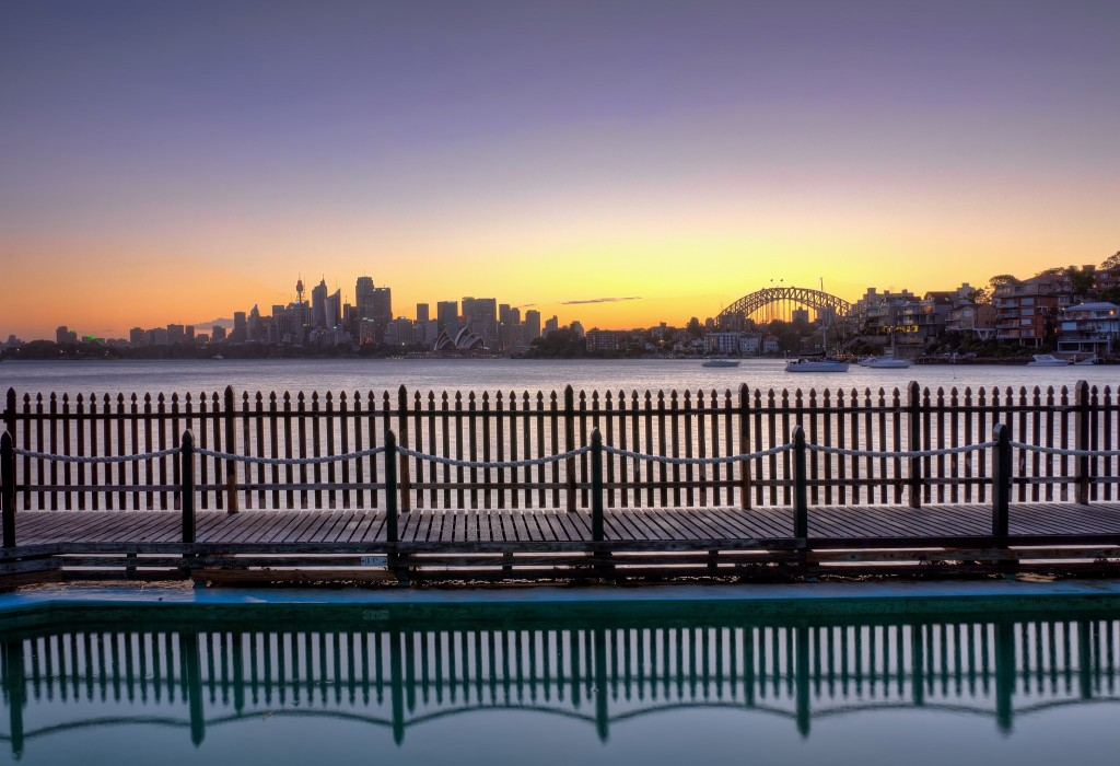 Maccallum Pool in Cremorne, Sydney