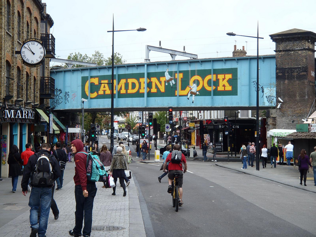 Camden Lock Markets, London