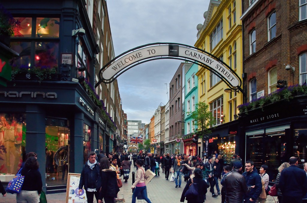 Carnaby Street, London, Kiril Strax
