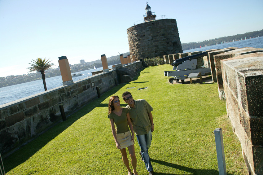 Fort Denison in Sydney Harbour. Source: Hamilton Lund, Destination NSW.