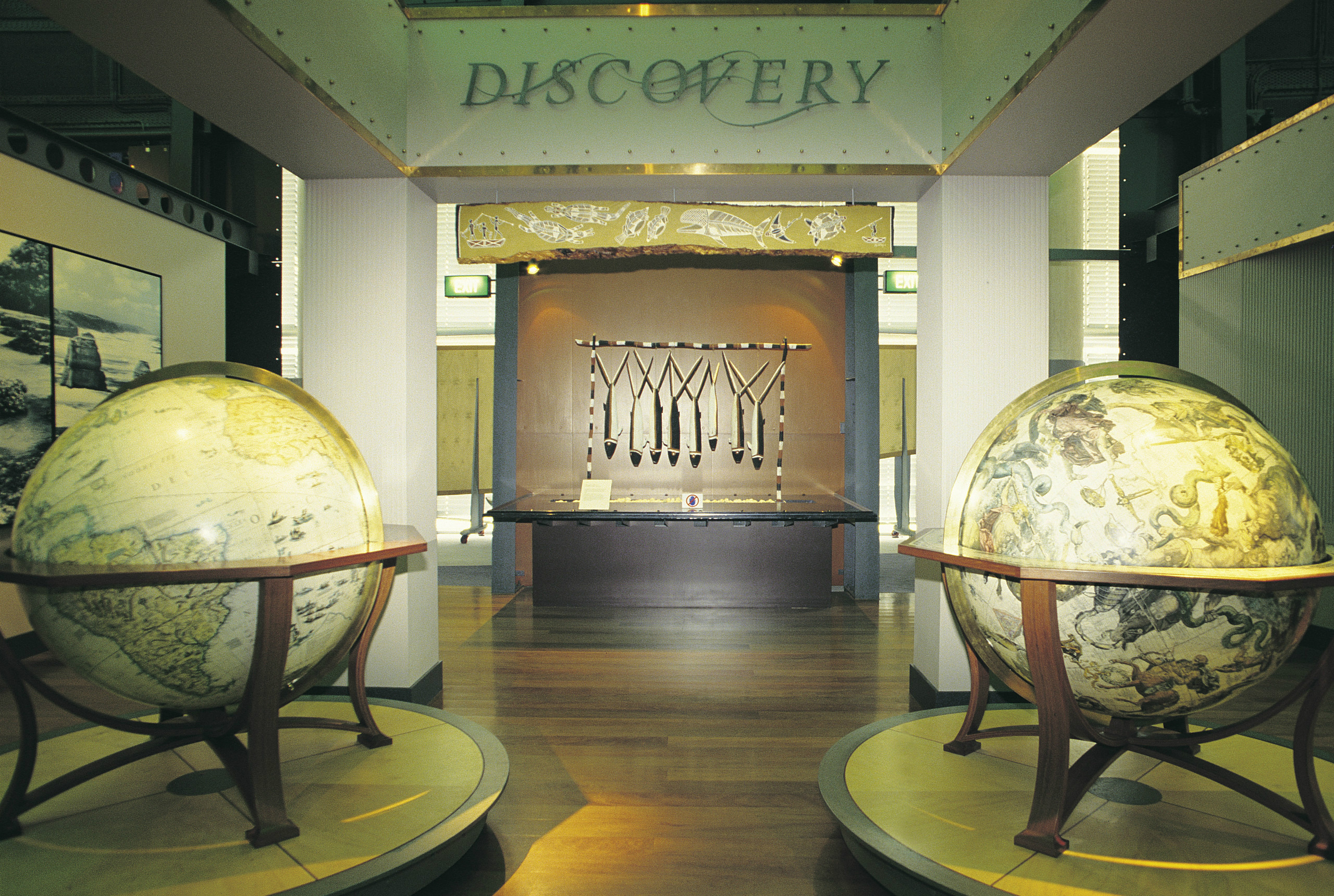 Globes at the Australian National Maritime Museum