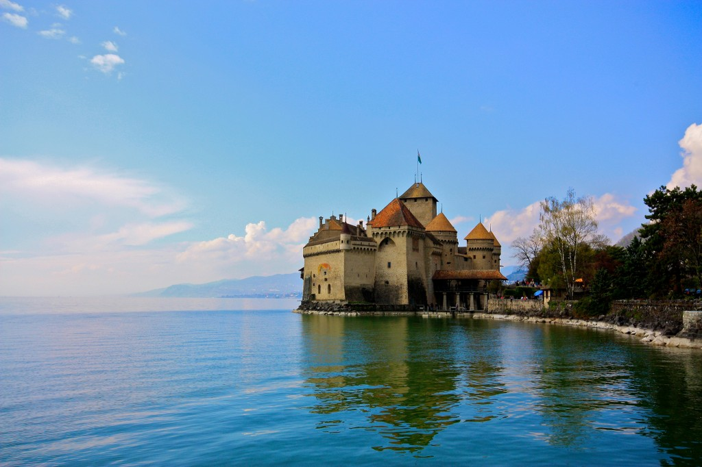Chateau-de-Chillon-Veytaux-Switzerland
