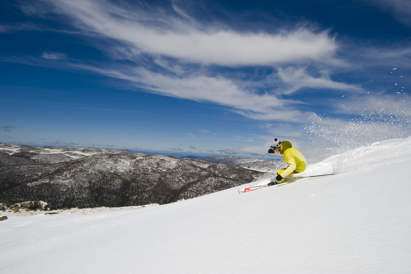 best skiing in australia