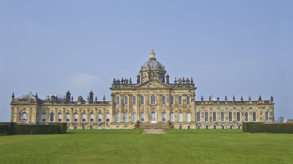 castle howard yorkshire england