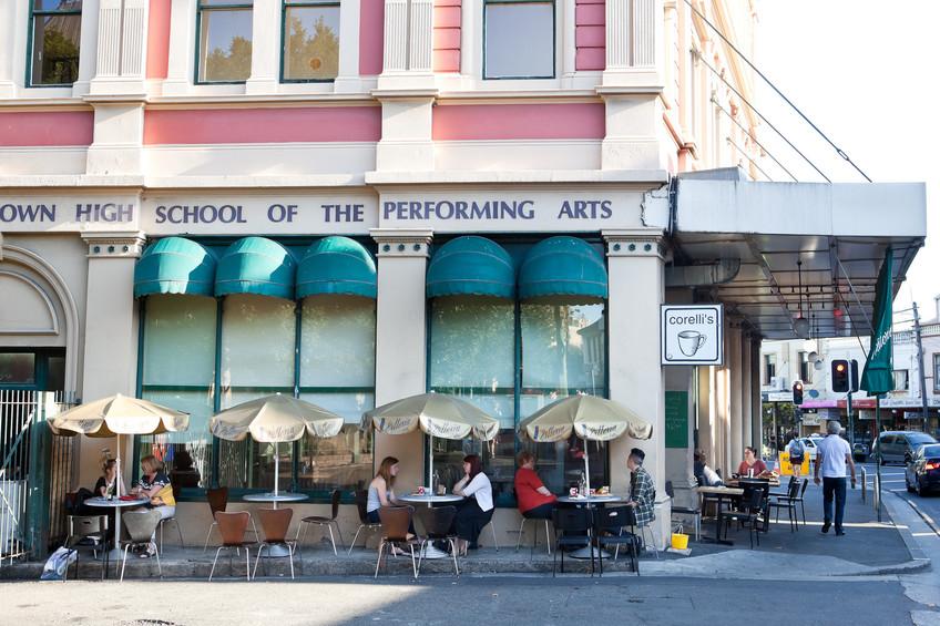 corellis cafe newtown sydney