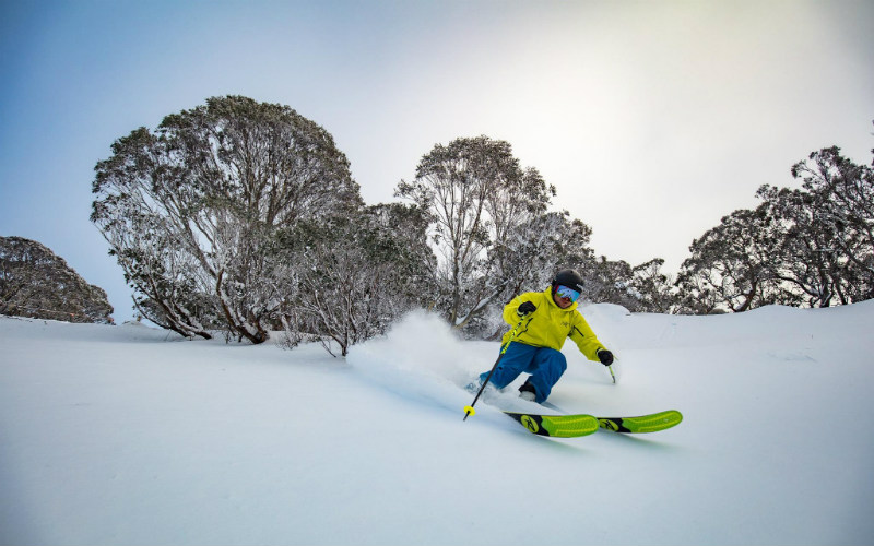 Hotham Alpine Resort, Victoria.