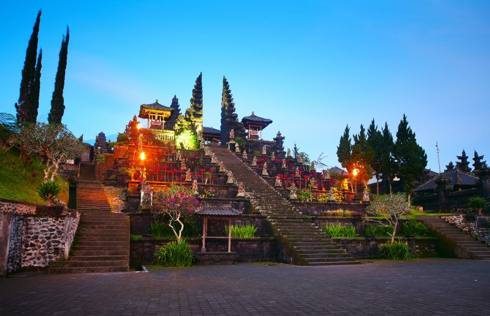 Mother Temple of Besakih East Bali