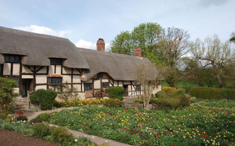 Anne Hathaway's Cottage, Stratford-upon-Avon, Warwickshire, England