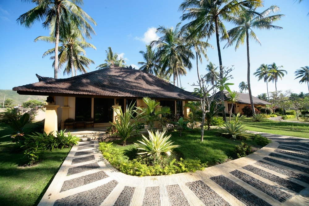 Bungalow accommodation Bali.