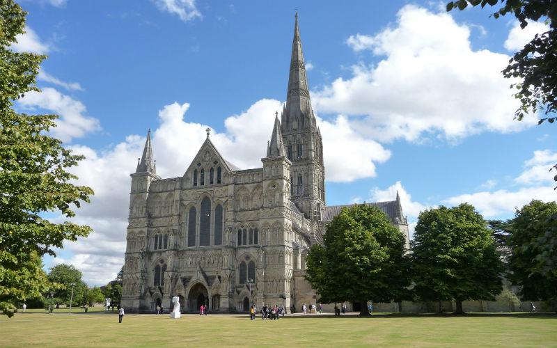 salisbury cathedral, salisbury, east sussex, england