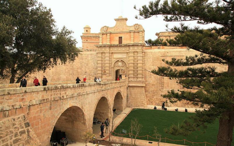 Mdina Gate, Mdina, Malta