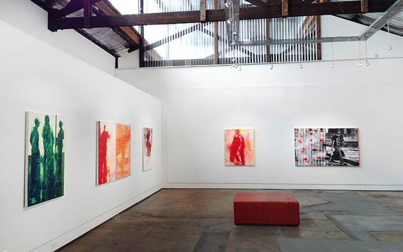 Brenda May Gallery, 2 Danks Street, Sydney, New South Wales.