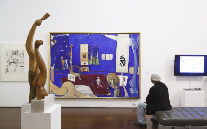 Brett Whiteley Studio, Sydney, New South Wales.