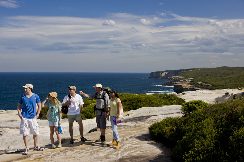 Royal Coast Walks tour in the Royal National Park NSW