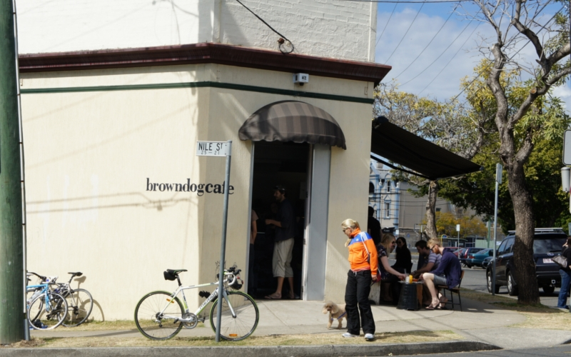 Brown dog cafe in woolloongabba brisbane