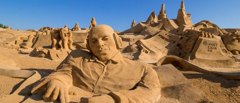 International Sand Sculpture Festival Portugal