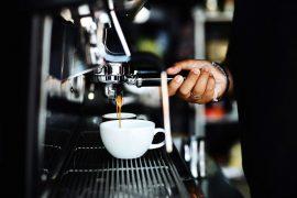 Cafe coffee machine