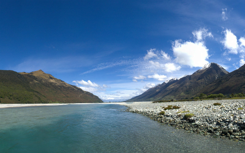 Dart River Valley, New Zealand