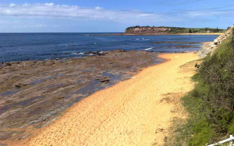 view of collaroy beach sydney