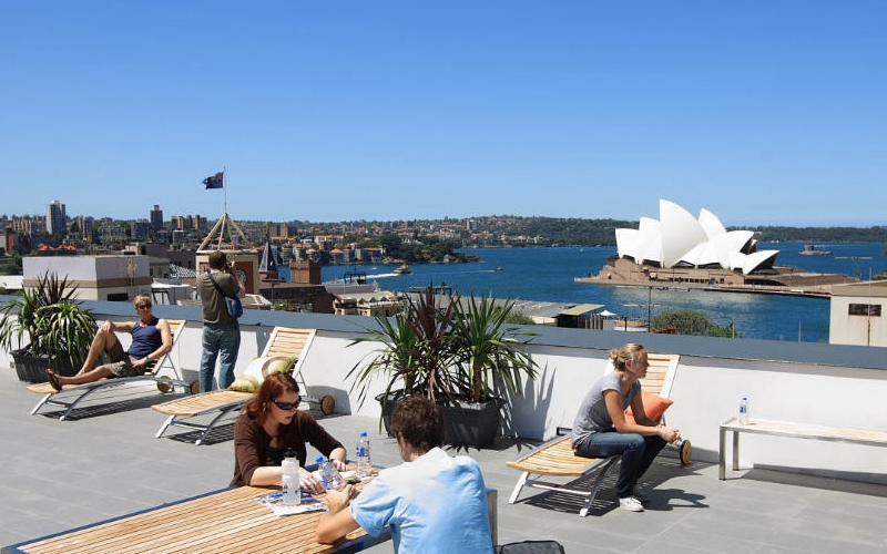 sydney harbour yha hostel