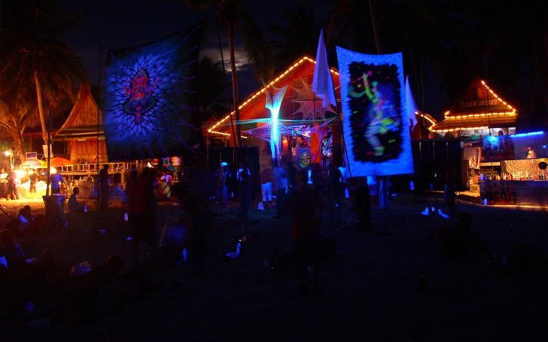 full moon party ko pangang thailand