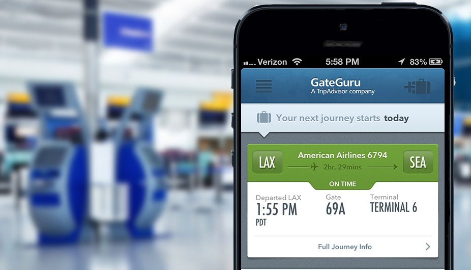 gate guru app for travelling