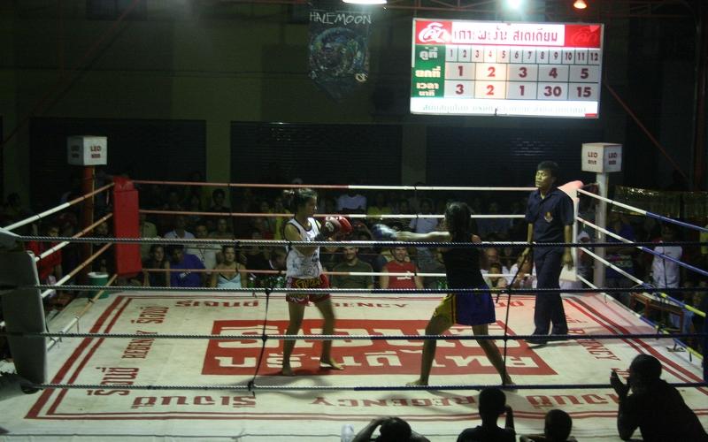 muay thai boxing thailand
