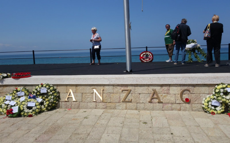 Anzac Cove, Gallipoi, Turkey