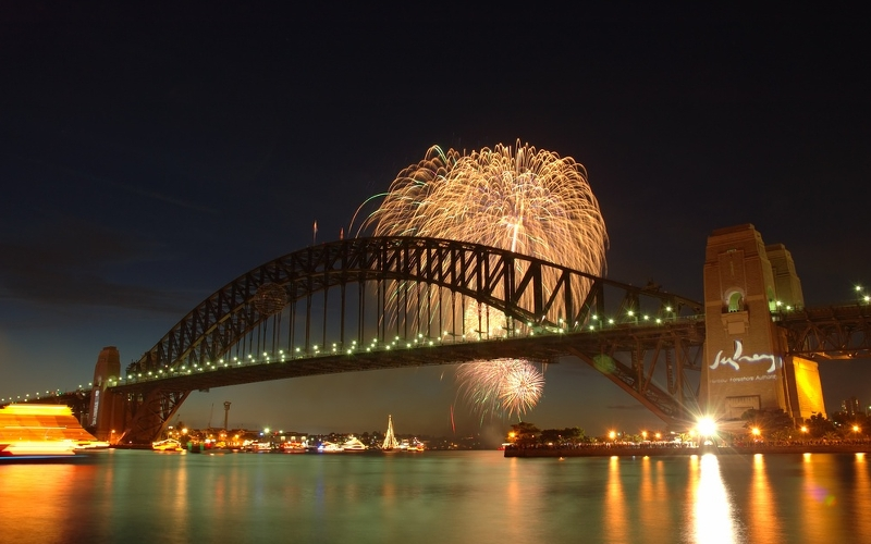 sydney harbour bridge new years eve