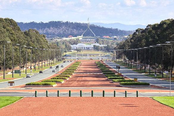 Anzac Parade, Canberra, Australian Capital Territory