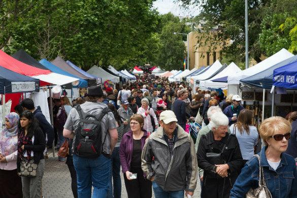 Salamanca Market, Hobart, Tasmania