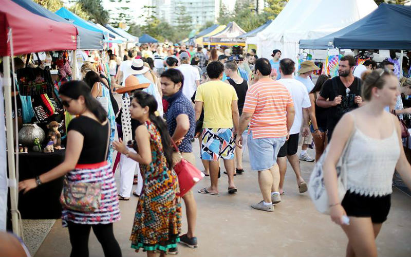 Surfers Paradise Beachfront Markets, Gold Coast, Queensland