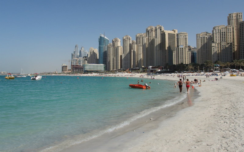 JBR Beach, Dubai, United Arab Emirates