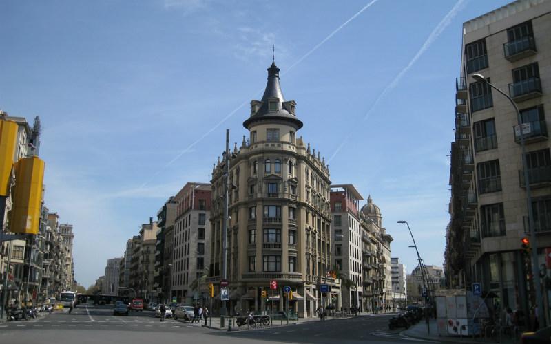 Eixample, Barcelona, Spain