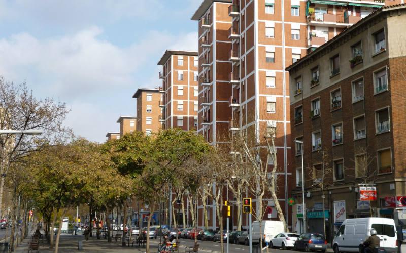 Sant Marti, Barcelona, Spain