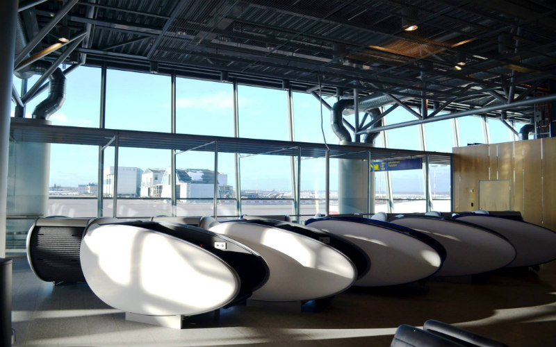 GoSleep sleeping pods, Helsinki Airport, Finland