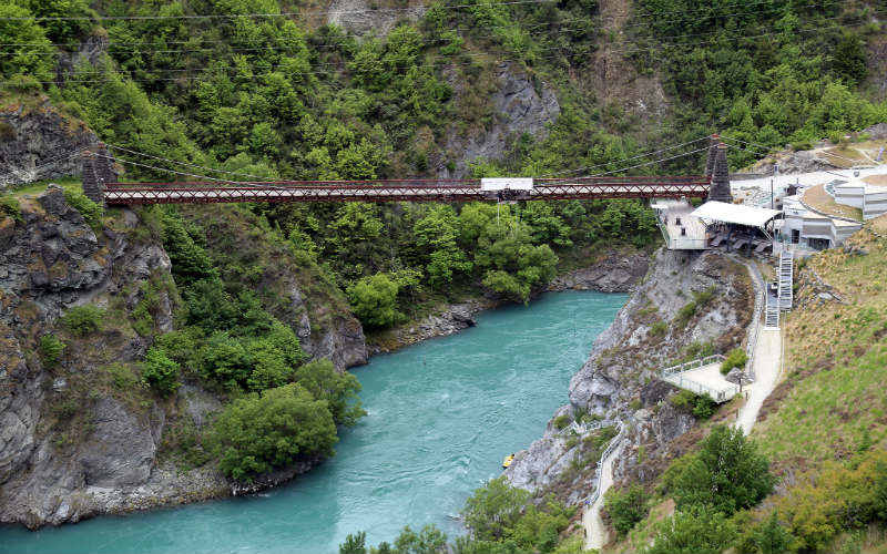 Kawarau Bridge, New Zealand