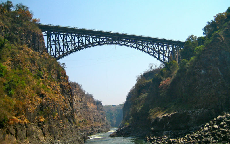 Victoria Falls Bridge, Zimbabwe and Zambia