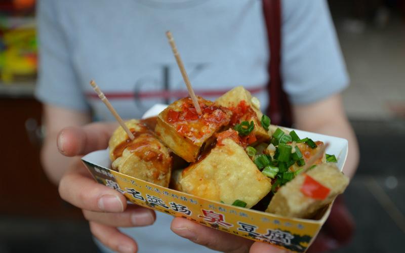 Stinky tofu in Beijing