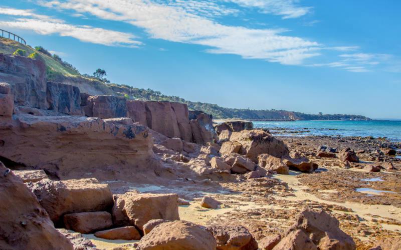Sandringham Beach, Bayside Coastal Art Trail, Victoria