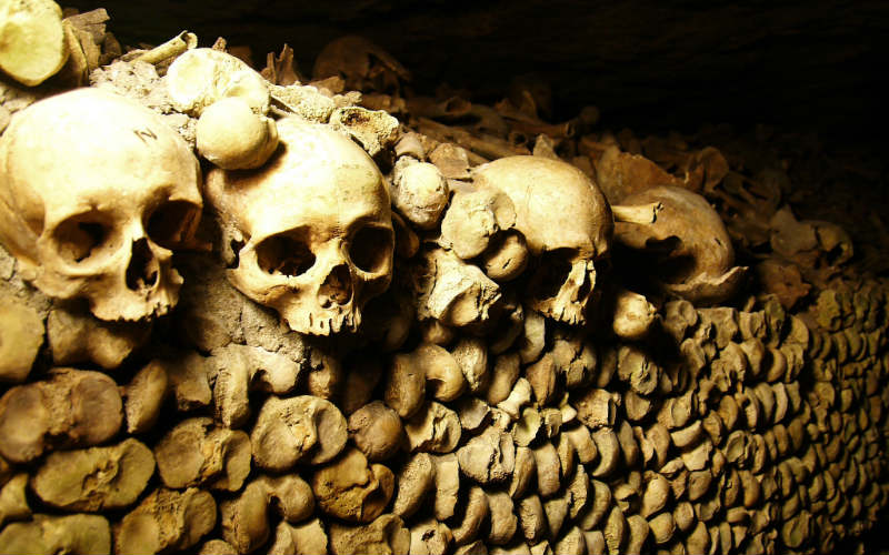 Catacombes de Paris, France